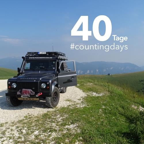 Countdown. Noch 40 Tage