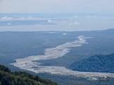 Der Rio Blanco vom Chaitén aus gesehen