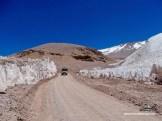 Mitten durch die Büßerschneefelder