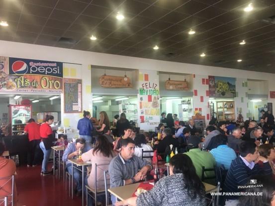 Mittagessen in Osorno