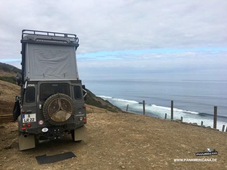 Übernachtungsplatz am Pazifik