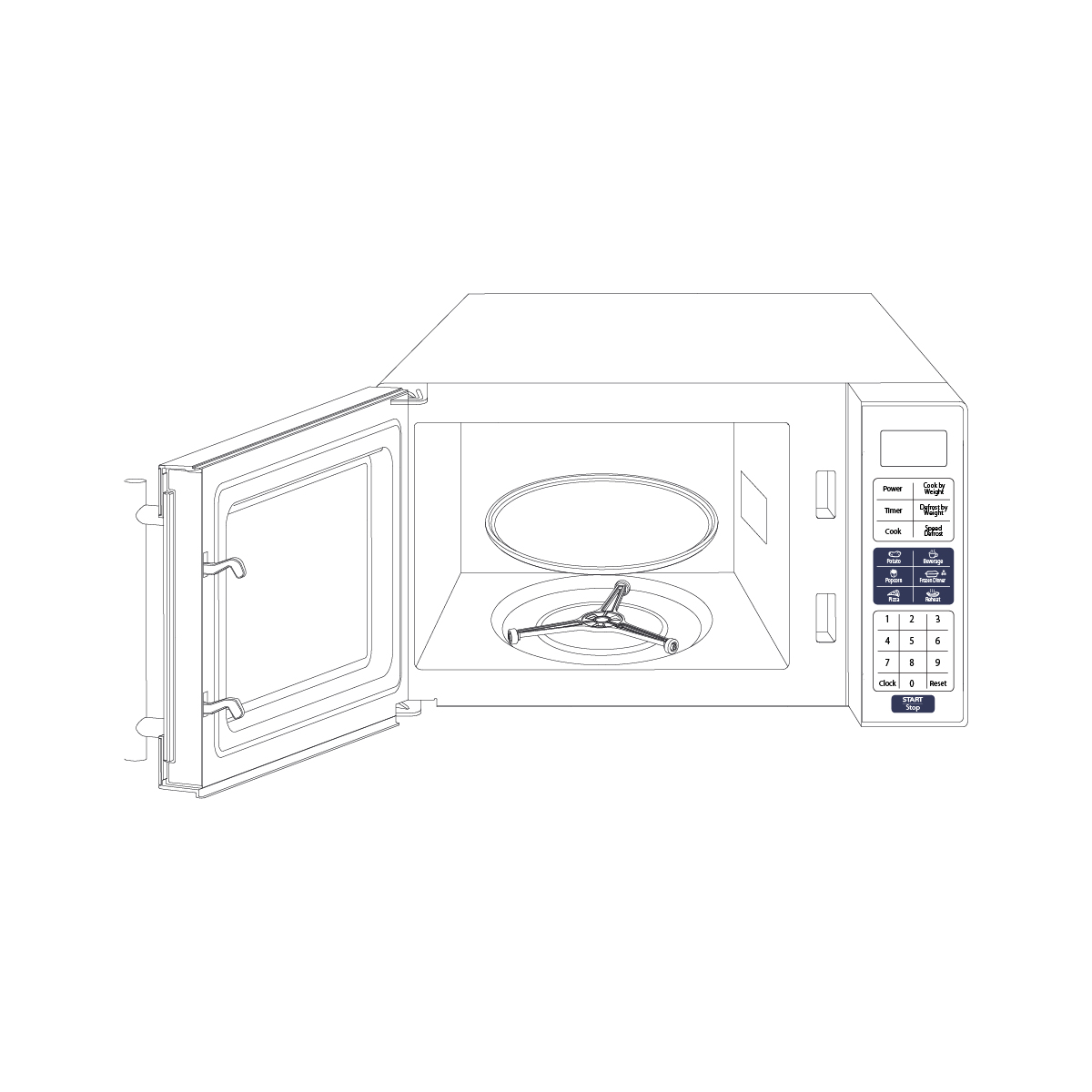 Tundra Truck Microwave Oven Mw Series 120 V Mw700