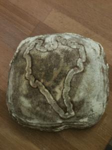 sourdough wheat leaven loaf