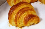 Butter croissants from our French Baking course