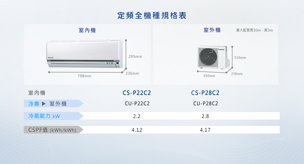 定頻系列 家用冷氣 - Panasonic 臺灣