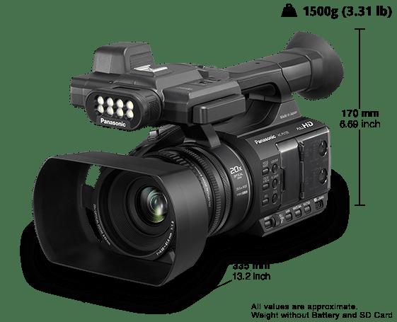 HD Camcorder HC-PV100