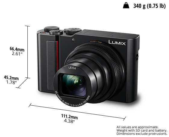 LUMIX® Digital Camera DC-TZ220