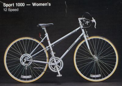 1983 Panasonic Sport 1000 - Women's