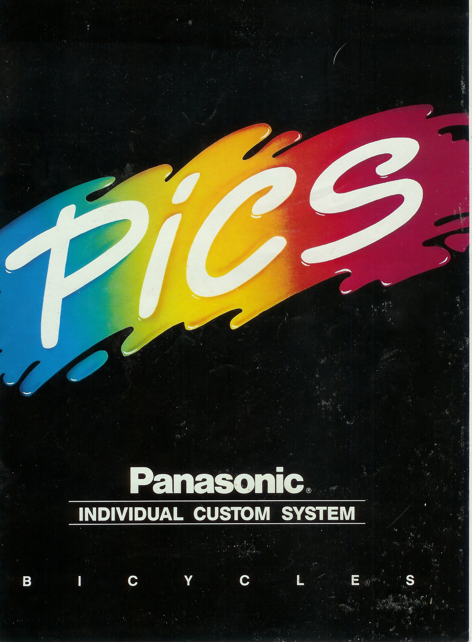 1988 Panasonic PICS Catalog Cover