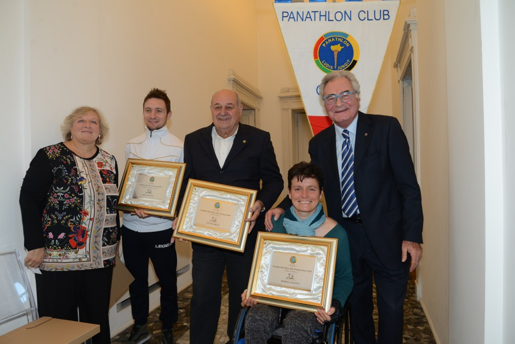 Premio Fair Play 2019 Panathlon Como
