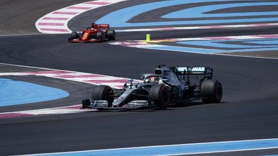 gara di f1 2019 in Francia, una fase