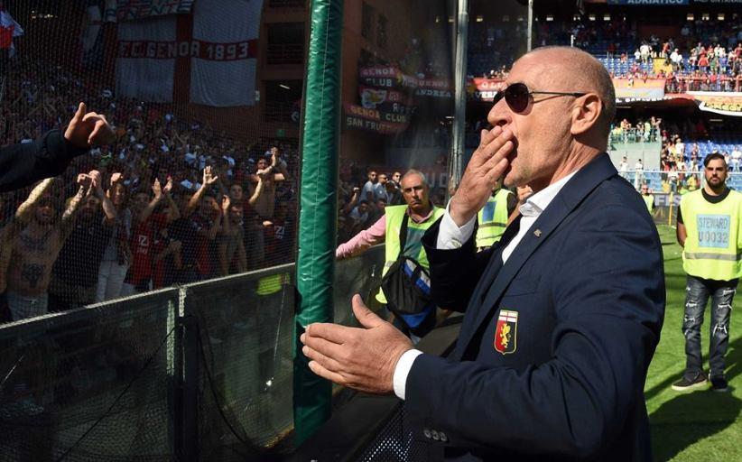 BALLARDINI E IL GENOA: UNA STORIA D'AMORE LUNGA 100 PANCHINE