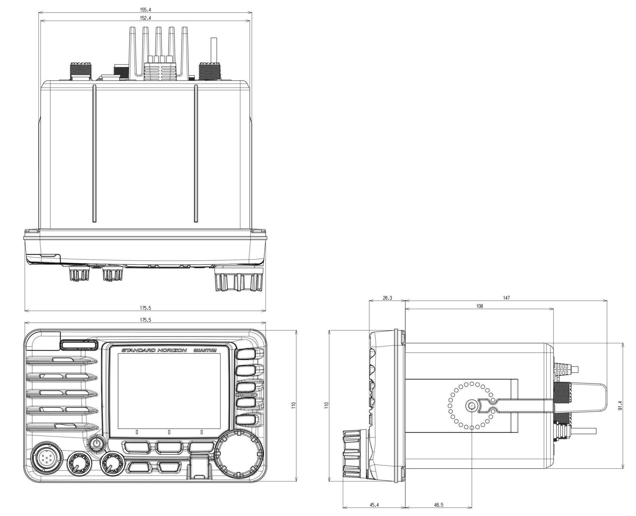 Panbo: The Marine Electronics Hub: Standard Horizon GX6500