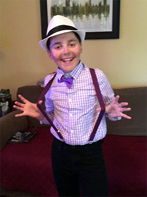 Jackson, 12, has attended Advocacy Day in Washington, D.C., for four years.