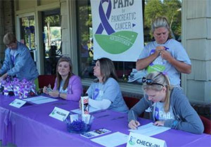 PARS for Pancreatic Cancer in action on event day.