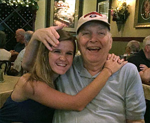 Hannah's grandpa, Murray Shelton Sr., is her inspiration to Wage Hope in the fight against pancreatic cancer.