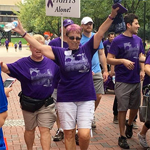 Cathy Schwandt of Columbus, Ohio, is a two-time cancer survivor. She was first diagnosed with breast cancer at 28, and then many years later, pancreatic cancer.