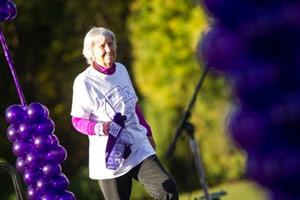 Frances Flateau, pancreatic cancer survivor