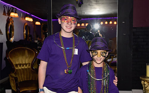 Boys Ask For Donations Instead Of Birthday Gifts At Mardi Gras Masquerade Fundraiser