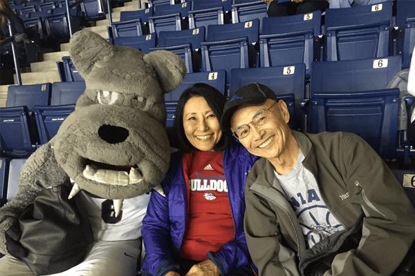 Dorothy and Joe Yamamoto, pancreatic cancer at a Gonzaga ballgame