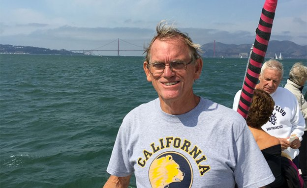 Ed Duncan uses swimming to stay fit after surviving pancreatic cancer.