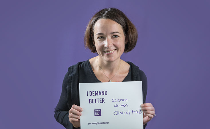 Stephanie Dougan, PhD, is an immunologist and Pancreatic Cancer Action Network research grantee