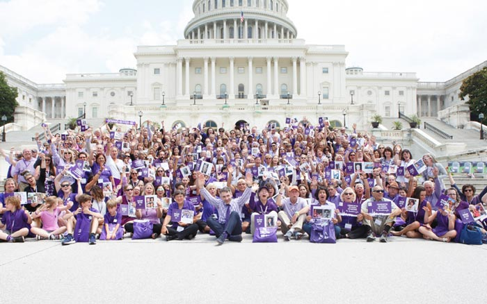 Advocates from across the U.S. on Capitol Hill for National Pancreatic Cancer Advocacy Day 2018