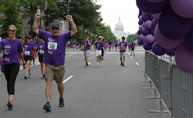 PurpleStride Washington, D.C., was the Pancreatic Cancer Action Network's first $1 million fundraiser walk