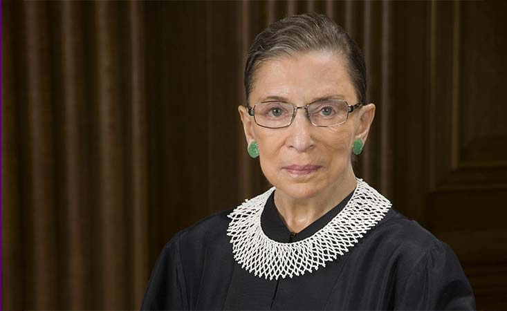 Supreme Court Justice Ruth Bader Ginsburg did radiation for pancreatic cancer in August 2019