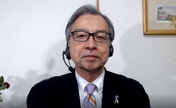 President of Japanese pancreatic cancer advocacy organization accepts prestigious award