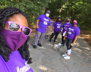PanCAN's PurpleStride community rose to the challenge when PurpleStride went virtual earlier this year, doing socially distanced walks and activities to raise funds to fight pancreatic cancer.