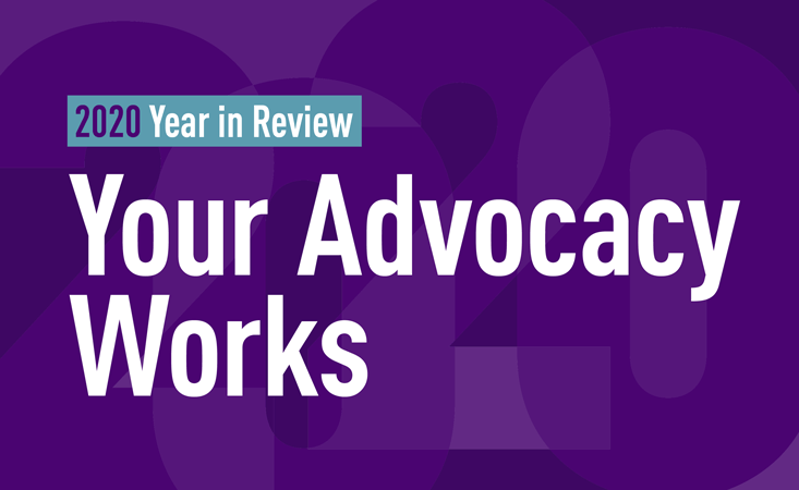 PanCAN community celebrates government advocacy wins for pancreatic cancer research in 2020