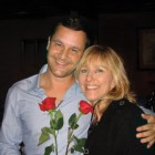 Dan Fogelman and his mother, who died of pancreatic cancer