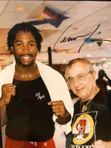 Dan LaMagna's dad and boxing champ Lennox Lewis