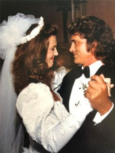 Michael Landon 10 months before he died of pancreatic cancer