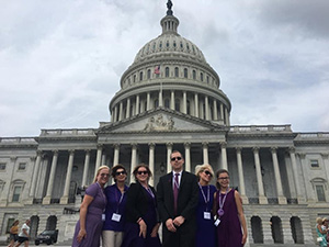 PanCAN advocates on Capitol Hill