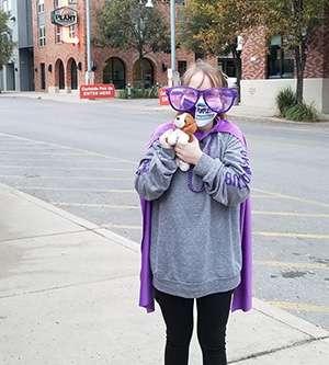 Jenna Trigilio at PurpleStride San Antonio pancreatic cancer walk