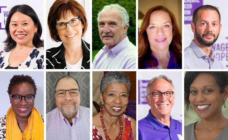 Pancreatic cancer survivors volunteer with PanCAN