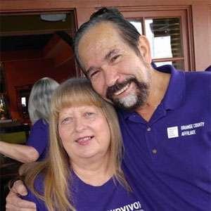 PanCAN volunteers Roberta and Vic Luna