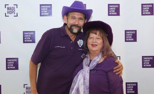 Vic and Roberta Luna, PanCAN volunteers, donors and advocates