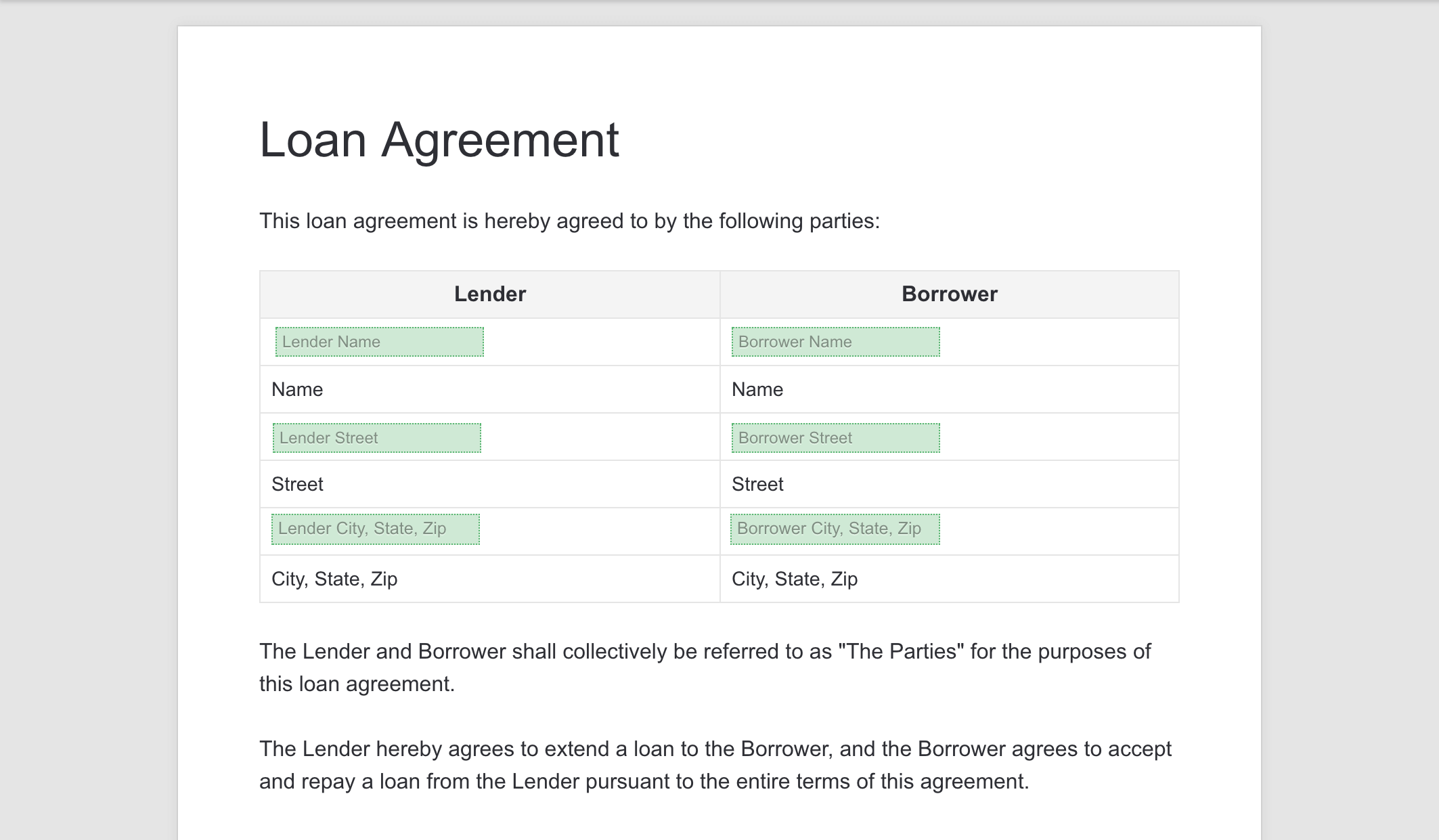 Even if the loan is given to a friend or a family member,. How To Fill Out And Sign A Loan Agreement Online Via Pandadoc