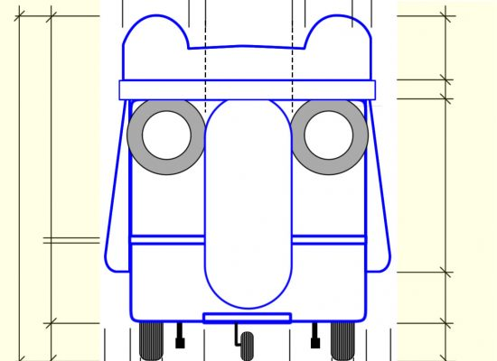 head side without measure