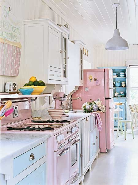 pastel kitchen Pastel Kitchens - Panda's House