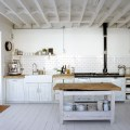 Rustic white country kitchen white rustic kitchen