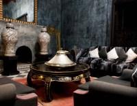 Black on Black Moroccan Design - Panda's House