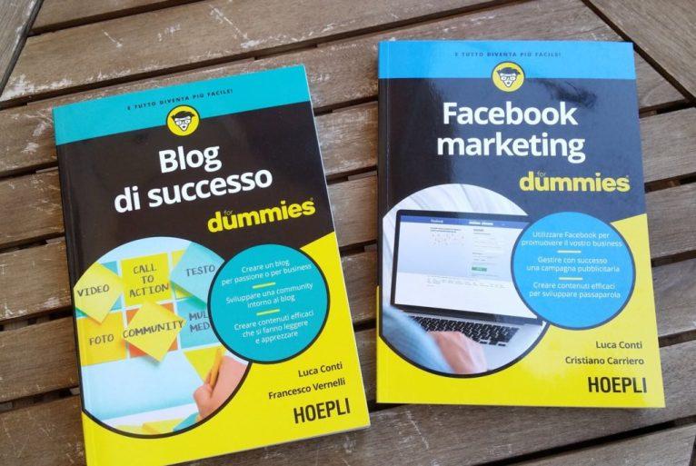 blog di successo for dummies copertina