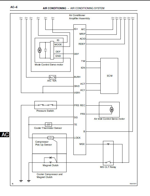 wiring diagram for air con system hilux?resize=523%2C683 prado 150 wiring diagram the best wiring diagram 2017 Auto Air Conditioning Wiring Diagram at crackthecode.co