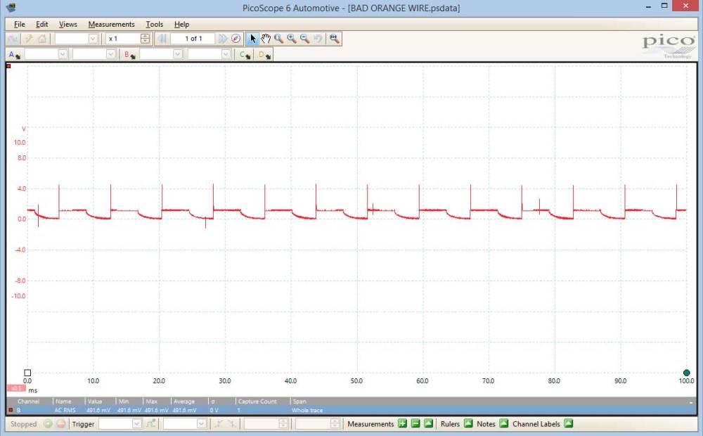 medium resolution of  waveform ve commodore alternator l circuit bad