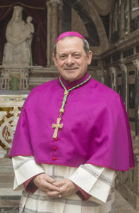 S.E. monsignor Francesco Oliva dimesso dall'ospedale