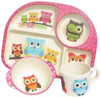 bamboe kinderservies bim bam boo – bimbamboo – bamboe kinderservies – kinder servies